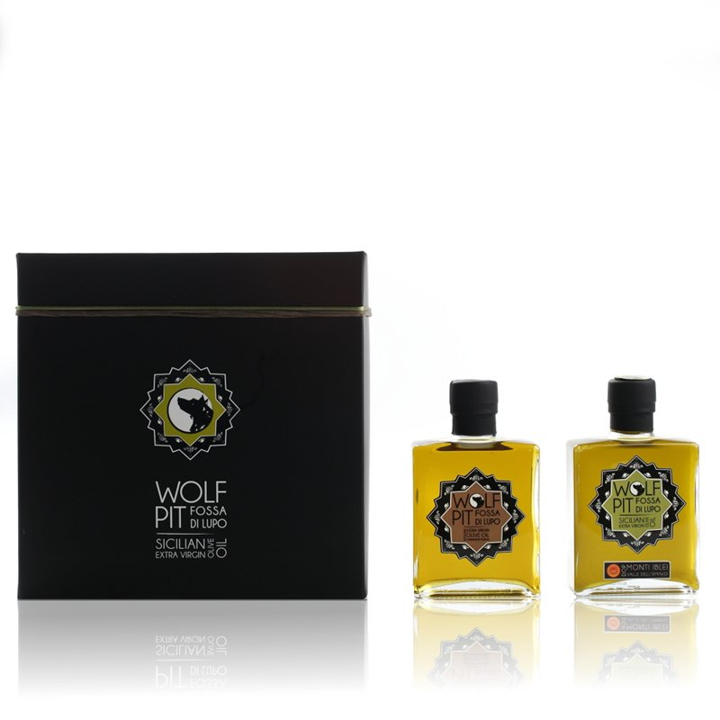Gift-box:<br/>200ml EVOO + 200ml of Cinnamon Fusion