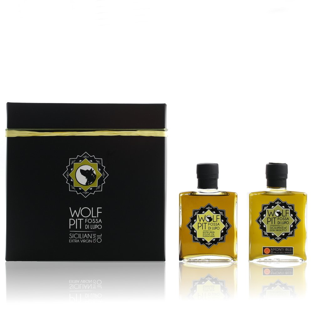 Gift-box:<br/>200ml EVOO + 200ml Lemon Fusion